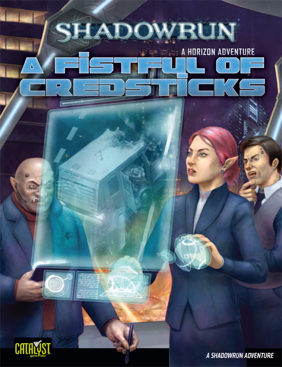 Shadowrun 4th ed: A Fistful of Credsticks - Used