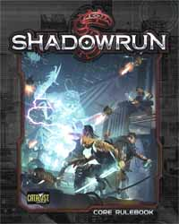 Shadowrun 5th ed Core Rulebook - Used
