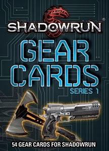 Shadowrun 5th ed: Gear Cards: Series 1