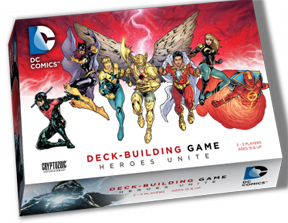 DC Comics Deck Building Game: Heroes Unite