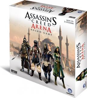 Assassins Creed: Arena Board Game - USED - By Seller No: 6892 Kraig Sagan