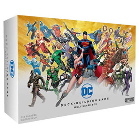 DC Comics Deck Building Game: Multiverse Box Expansion