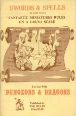 Dungeons and Dragons: Swords and Spells: Fantastic Miniatures Rules - USED