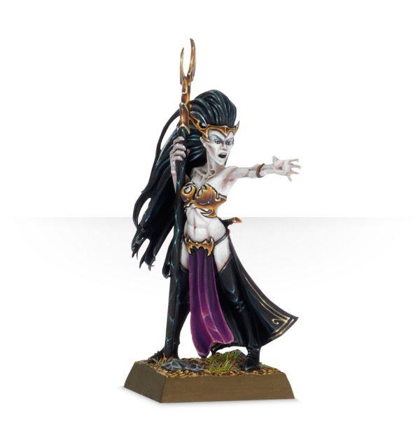 Warhammer: Age of Sigmar: Dark Elf Supreme Sorceress 85-34