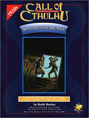 Call of Cthulhu Day of the Beast - Used