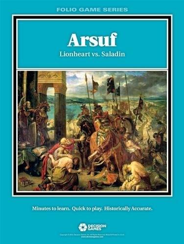 Folio: Arsuf: Lionheart VS Saladin