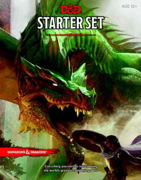 Dungeons and Dragons 5th ed: Starter Set - Used