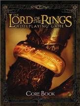 The Lord of the Rings Role Playing Core Rule Hard Cover