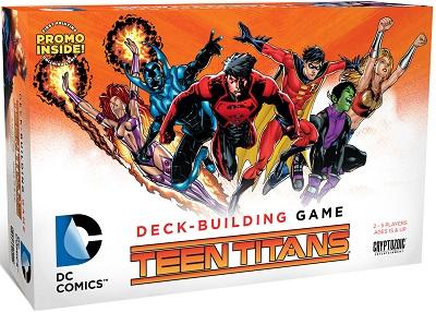 DC Comics: Deck Building Game: Teen Titans Expansion