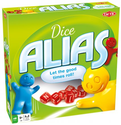 Dice Alias Card Game