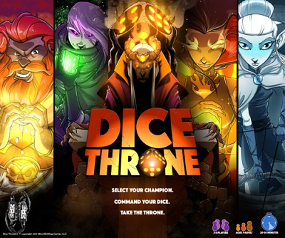 Dice Throne Card Game