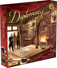 Diplomacy Board Game - USED - By Seller No: 7654 Martha Bogner