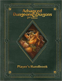 Dungeons and Dragons 2nd Ed: Player's Handbook Premium Ed HC - USED