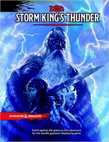 Dungeons and Dragons 5th Ed: Storm Kings Thunder HC