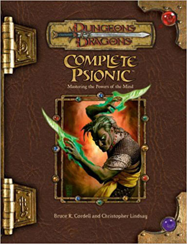 Dungeons and Dragons 3.5 Ed: Complete Psionic - Used