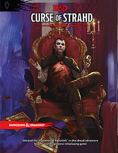 Dungeons and Dragons 5th ed: Curse of Strahd HC