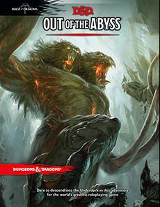 Dungeons and Dragons 5th Ed: Out of the Abyss HC