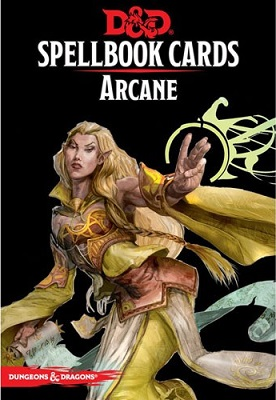 Dungeons and Dragons: Spellbook Cards: Arcane Deck