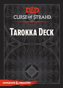 Dungeons and Dragons: Tarokka Deck: Curse of Strahd
