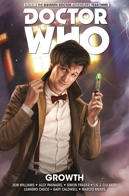 Doctor Who: The Eleventh Doctor: Year Three Volume 1: Growth HC