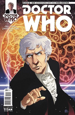 Doctor Who: The Third Doctor no. 3 (3 of 5) (2016 Series)