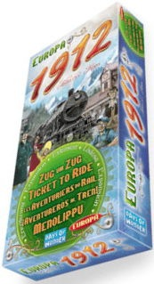 Ticket to Ride: Europa 1912 Expansion