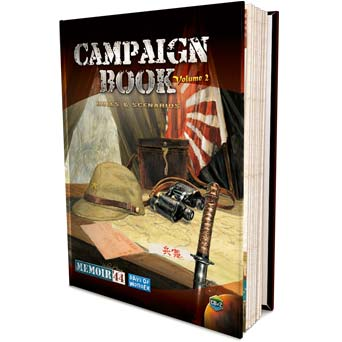 Memoir 44: Campaign Book: Vol 2: Rules and Scenarios