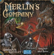 Shadows Over Camelot: Merlins Company Board Game Expansion