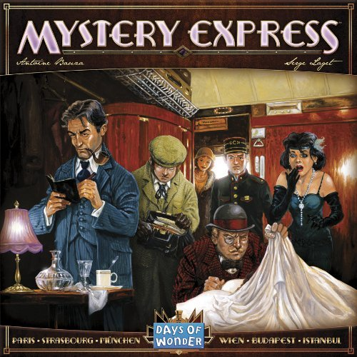 Mystery Express Board Game - USED - By Seller No: 20 GOB Retail