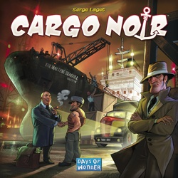Cargo Noir Board Game - USED - By Seller No: 20 GOB Retail