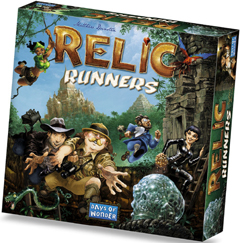 Relic Runners Board Game - USED - By Seller No: 7709 Tom Schertzer