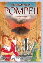 The Downfall of Pompeii - Second Edition Board Game