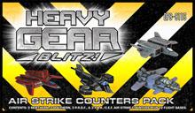 Heavy Gear: Blitz: Air Strike Counters Pack