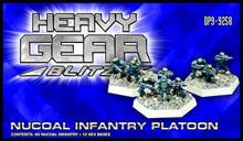 Heavy Gear: Blitz: Nucoal Infantry Platoon
