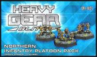 Heavy Gear: Blitz: North Infantry Platoon