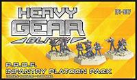 Heavy Gear: Blitz: Peace River Infantry Platoon