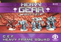 Heavy Gear: Blitz: C.E.F. Heavy Frame Squad