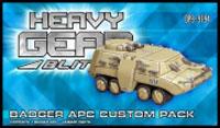 Heavy Gear: Blitz: Badger APC Custom Pack