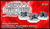 Heavy Gear: Blitz: Southern Infantry Platoon