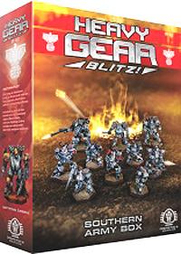 Heavy Gear: Blitz: Southern Army Box