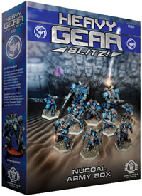 Heavy Gear: Blitz: Nucoal Army Box