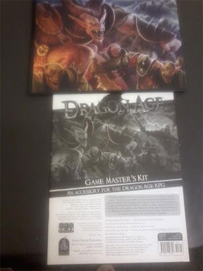 Dragon Age: Game Masters Kit - Used