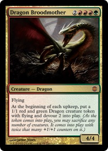 Dragon Broodmother - (Alara Pre-Release Foil)