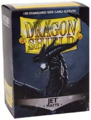 Sleeves: Dragon Shield: Matte Jet: 100 Sleeves