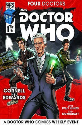 Doctor Who: Four Doctors (2015) Complete Bundle - Used