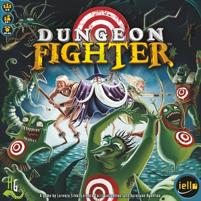 Dungeon Fighter Board Game - Iello - USED - By Seller No: 12037 Matt Kerre