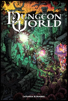 Dungeon World Role Playing Game - Used