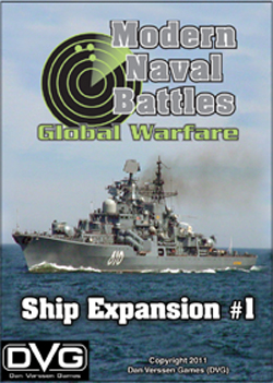 Modern Naval Battles: Global Warfare: Ship Expansion 1