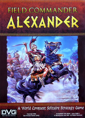 Field Commander Alexander Board Game