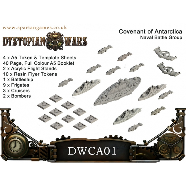 Dystopian Wars: Covenant of Antarctica: Naval Battle Group